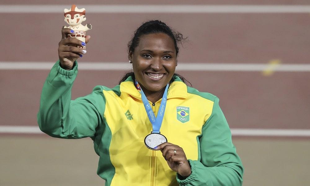 Andressa de Morais - atletismo  - lançamento de disco feminino - Jogos Olímpicos de Tóquio 2020