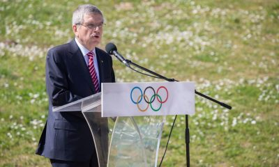 COI Thomas Bach Comitê Olímpico Internacional tóquio