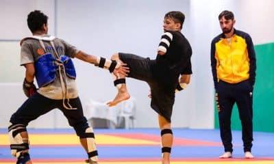 Campeões do parataekwondo treinam para qualificatório olímpico