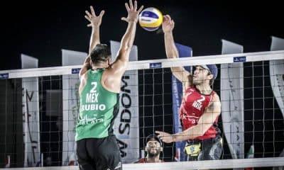 Evandro e Bruno Schmidt perdem e disputarão bronze em Doha