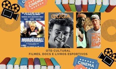 OTD Cultural: dicas de livros, docs e filmes esportivos para a quarentena