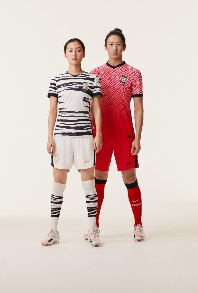 Uniforme de futebol da Coreia do Sul