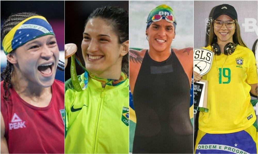 Destaques atletas femininas brasileiras tóquio 2020