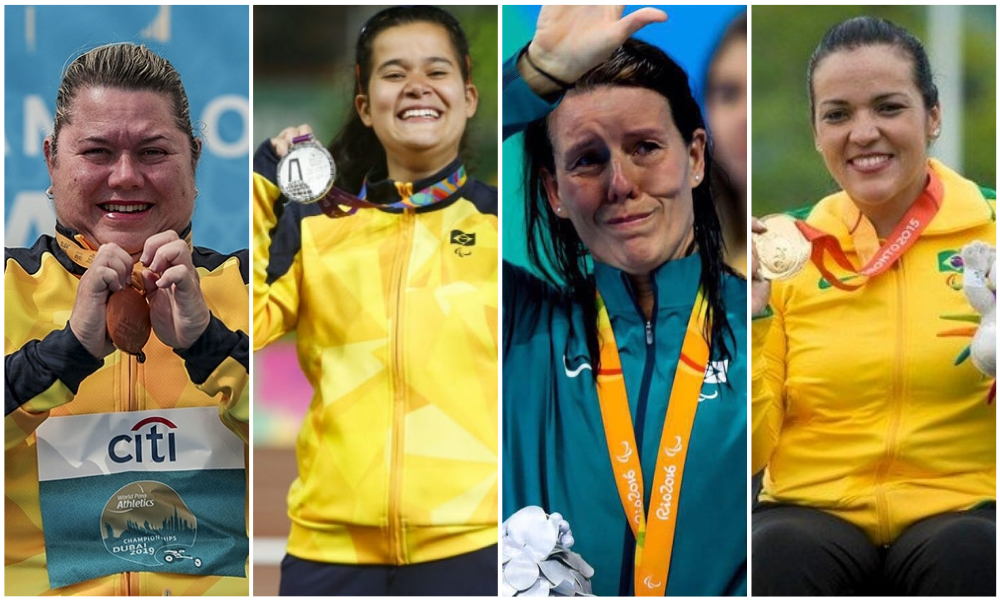 Destaques femininos Paralimpíadas Tóquio