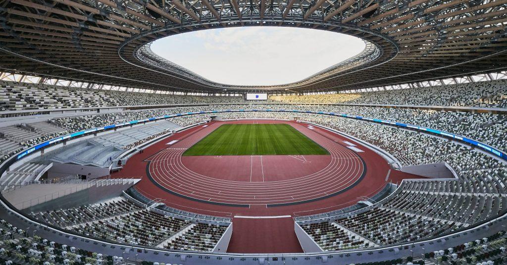 sede do atletismo e do futebol nos Jogos Olímpicos Tóquio 2020