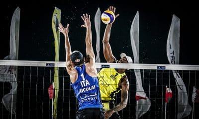 Bruno Schmidt Evandro Doha vôlei de praia