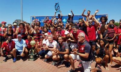 Flamengo comemora vitória na primeira etapa do Campeonato Carioca de Remo 2020 - FRERJ
