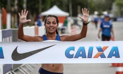 Gabriela Muniz, promessa da marcha, disputará o Sul-Americano