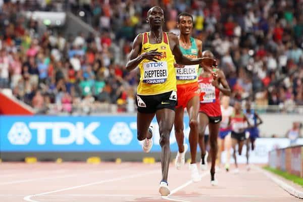 Joshua Cheptgei uganda atletismo 10000m masculino jogos olímpicos tóquio 2020