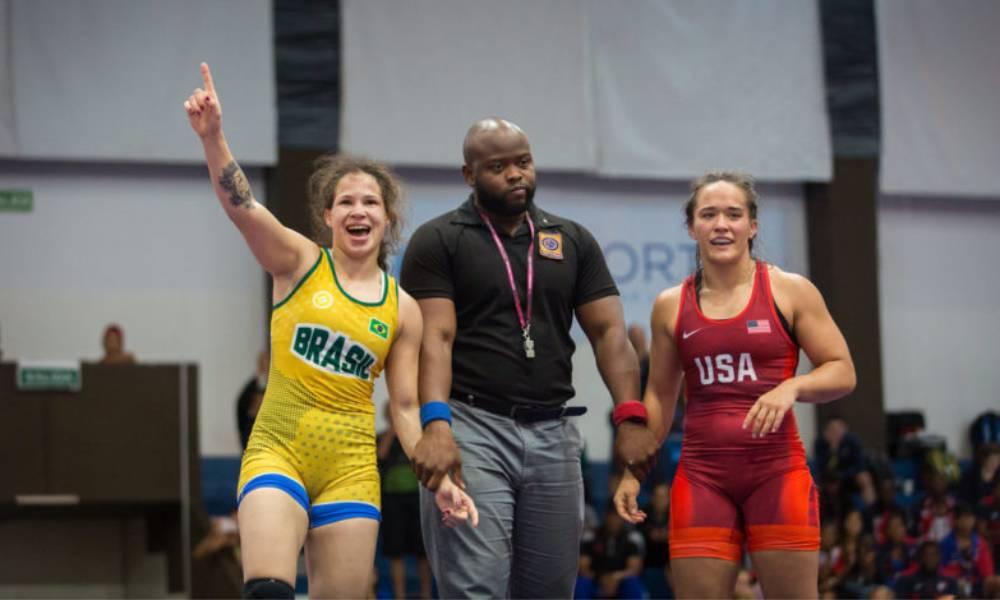 O wrestling brasileiro entra em ação nesta sexta-feira (6), dia inaugural do Pan-americano de Wrestling 2020, em Ottawa, Canadá