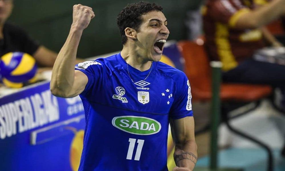 Rodriguinho Cruzeiro jogador de vôlei