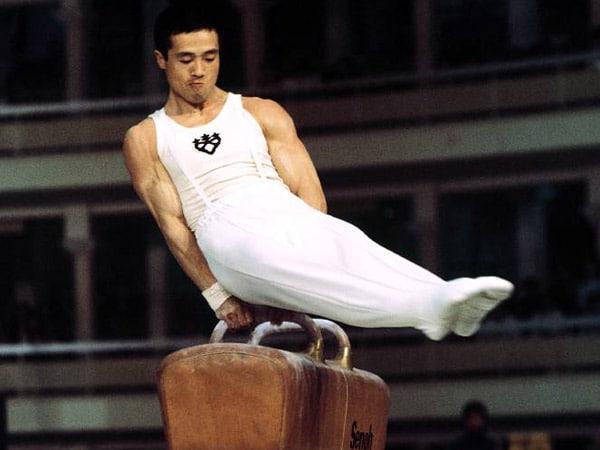 Sawao Kato foi campeão do individual geral masculino nos Jogos Olímpicos de 1968 e 1972