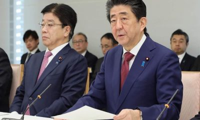 Dia do Jornalista o Primeiro-ministro japonês Shinzo Abe coronavírus pandemia