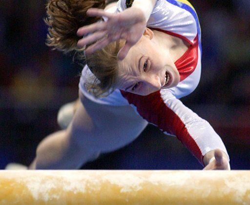 Simona amanar salto feminino jogos olímpicos