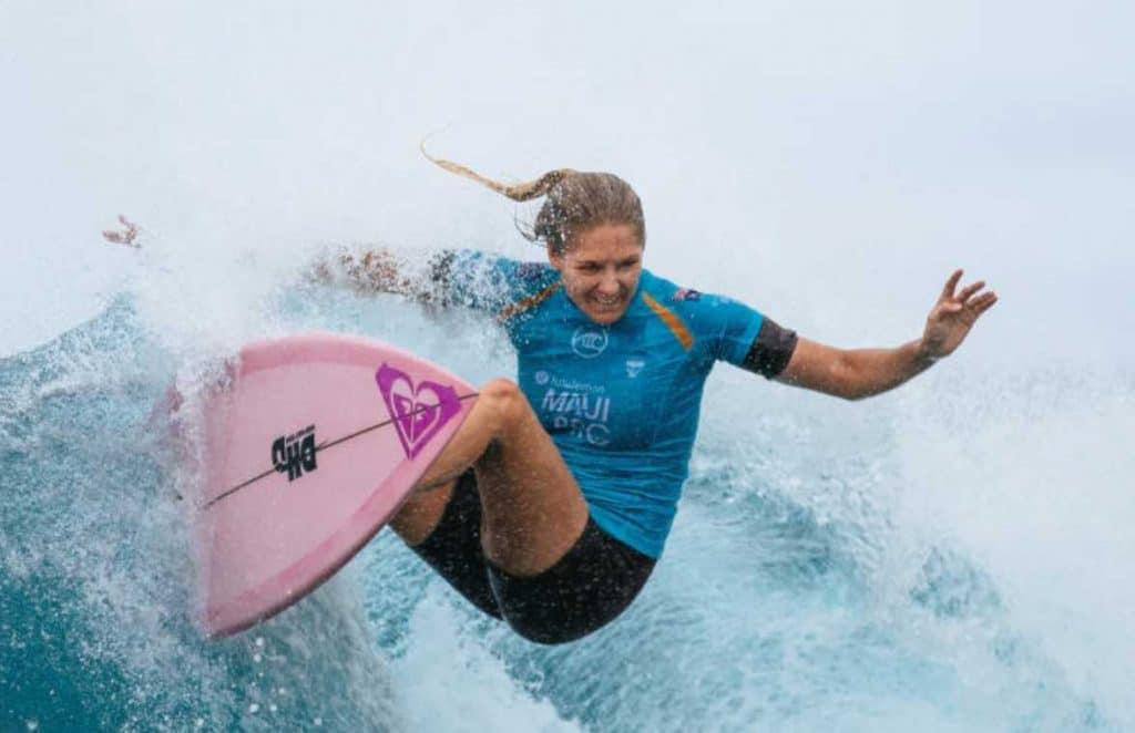 Stephanie Gilmore surfe feminino jogos olímpicos tóquio 2020