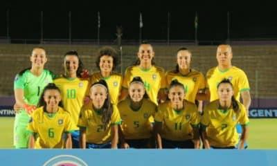 seleção brasileira no Sul-Americano sub-20 de futebol feminino