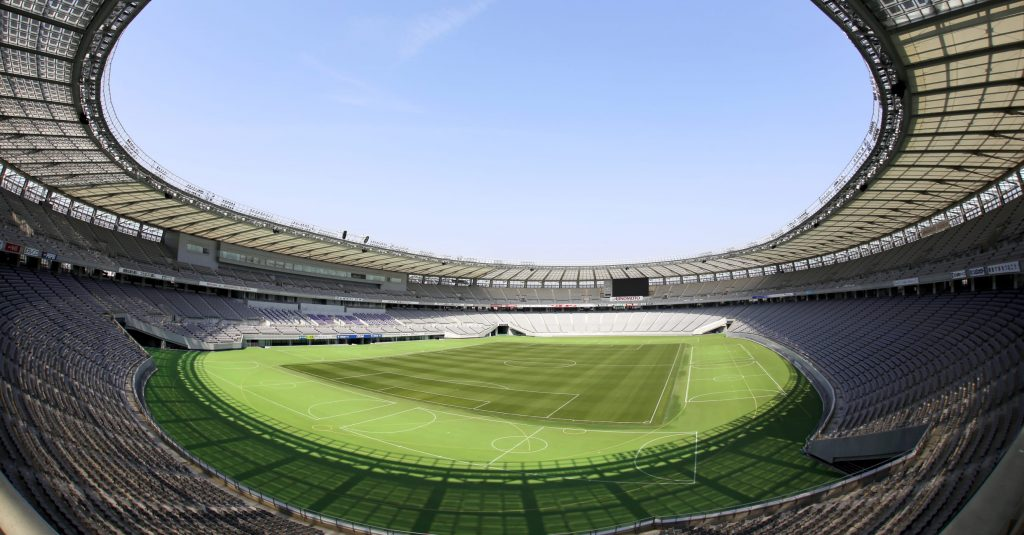 sede do futebol nos Jogos Olímpicos Tóquio 2020
