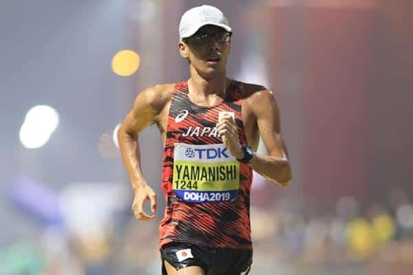 Atual campeão mundial, Toshikazu Yamanishi é favorito na marcha 20km em Tóquio