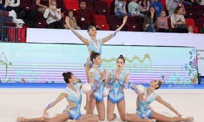 Seleção de conjunto ginástica rítmica Confederação Brasileira de Ginástica