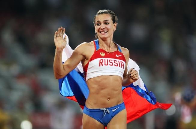 Yelena Isinbayeva foi um dos destaques do atletismo nos Jogos Olímpicos ao ganhar ouro em 2004 e 2008