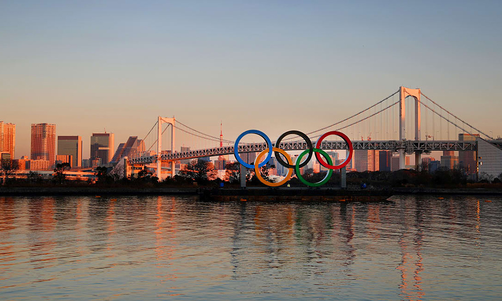Jogos Olímpicos Olimpíadas Paralimpíadas paralímpicos Tóquio 2020 baía
