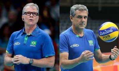 Saiba quais são oss treinadores mais vitoriosos da história do vôlei em Olimpíadas. Lista tem nomes como Bernardinho, Karpol e José Roberto Guimarães