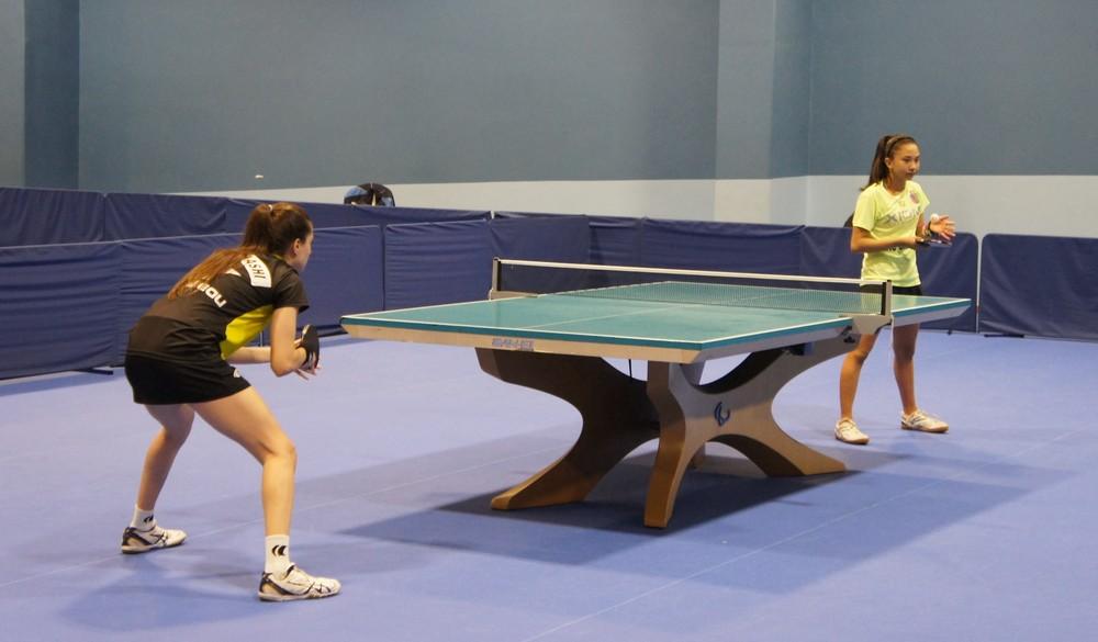 Giulia e Bruna Takahashi - Tênis de mesa - Quarentena