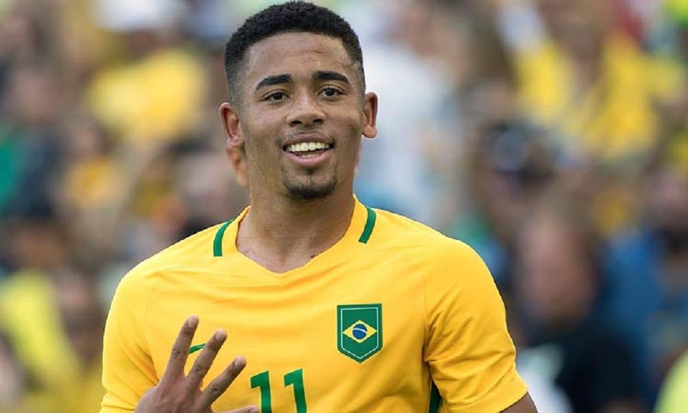 Gabriel Jesus - o brasileiro mais jovem a ser campeão olímpico