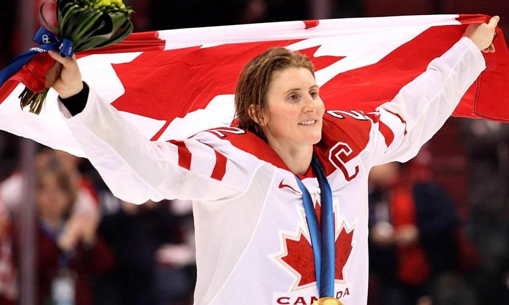 Hayley Wickenheiser COI coronavírus hóquio no gelo Canadá