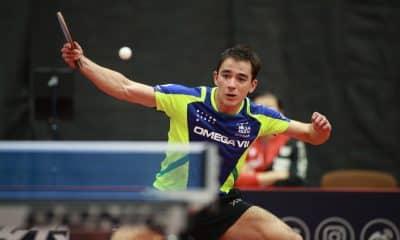 Hugo Calderano importantes pontos na corrida por um melhor chaveamento nos Jogos Olímpicos de Tóquio (Foto: Divulgação/ITTF)