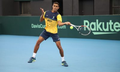 Thiago Monteiro faz parte da seleção que enfrentará a Austrália na Copa Davis (Foto: Lucas Balduino, CBT))