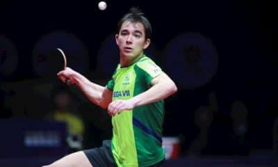 Calderano foi absoluto no primeiro jogo do Aberto do Qatar. Foto de Arquivo: ITTF.