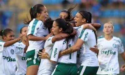 Palmeiras venceu São Paulo com gol no fim do jogo (Foto: Divulgação/Palmeiras)