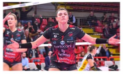 Rosamaria joga no Perugia desde 2019 (Foto: Reprodução/Instagram)