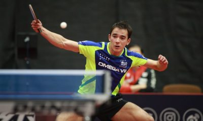 Hugo Calderano mundial de tênis de mesa datas ittf Tóquio 2020 coronavírus