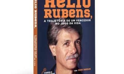 Capa livro Helio Rubes biografia