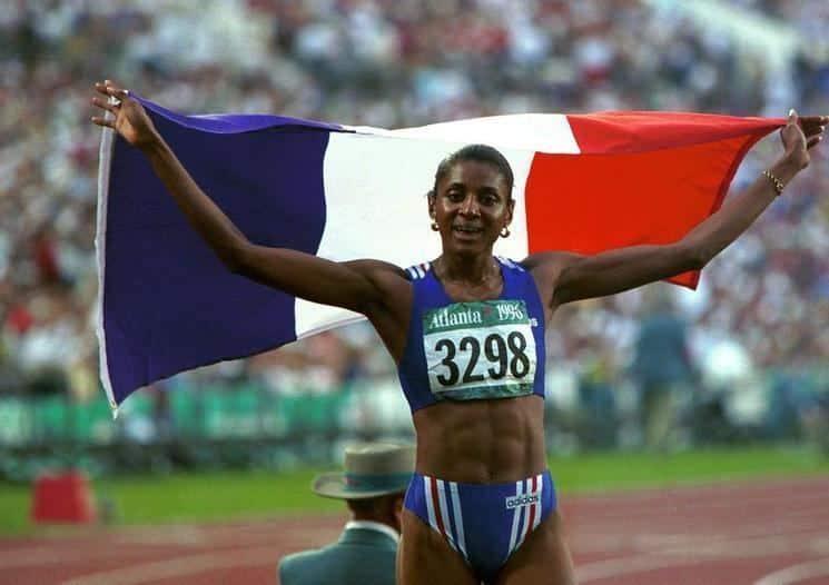 Marie-José Pérec tem história no atletismo com três medalhas de ouro conquistadas em Jogos Olímpicos