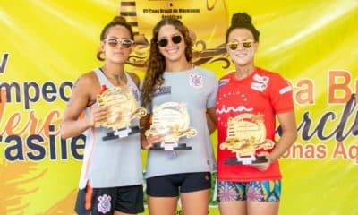 Marcella Ribeiro - 5km - Campeonato Brasileiro de maratonas aquáticas