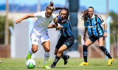 Santos vence o Grêmio no Brasileiro de futebol feminino