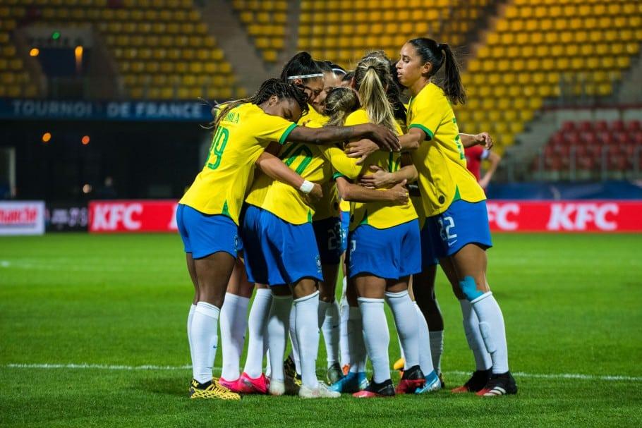 Seleção brasileira de futebol feminino torneio internacional da fraça ranking fifa