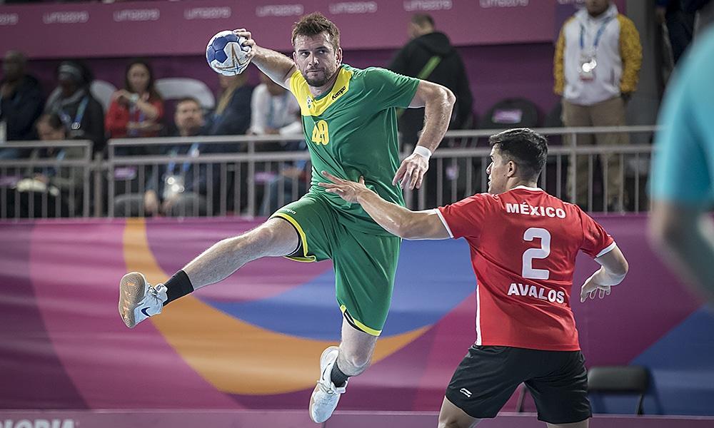 seleção brasileira brasil handebol pré-olímpico mundial tóquio 2020 adiamento jogos pan-americanos lima