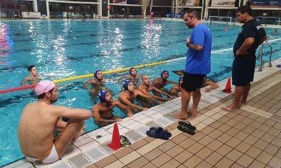 Seleção brasileira de polo aquático treina na Espanha para o Pré-olímpico