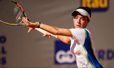 Thaisa Pedretti é a única a avançar no torneio de simples. Todas as duplas formadas apenas por brasileiras estão eliminadas