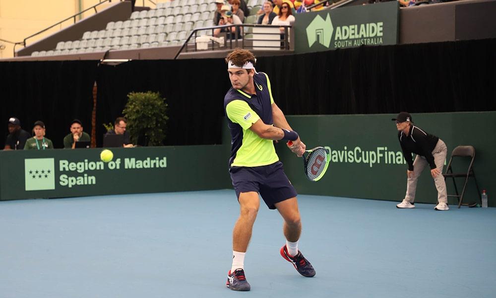 Thiago Wild na Copa Davis contra a Austrália em Adelaide coronavírus atletas