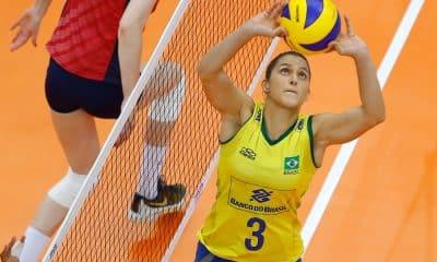 Dani Lins, levantadora, seleção brasileira feminina de vôlei