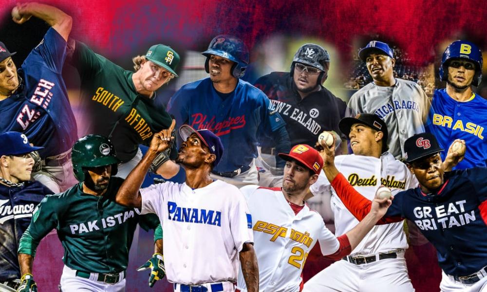 Arte das eliminatórias da WCB de beisebol