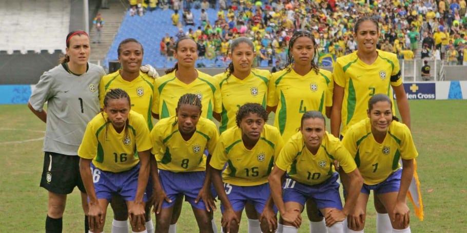 Aline Pellegrino - Ouro Pan 2007 - Seleção Brasileira Feminina