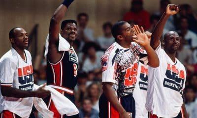 Michael Jordan com o Dream Team leiloada