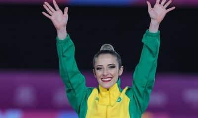 Natália Gaudio, da ginástica rítmica, não está classificada para Tóquio, mas já pensa nas Olimpíadas de Paris