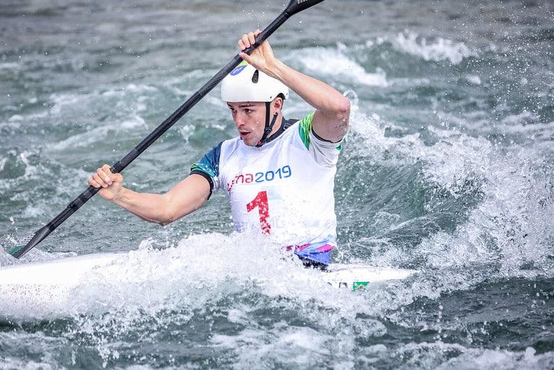Pepê Gonçalves exaltou o momento da canoagem brasileira, mantém os treinos e já está classificado aos Jogos Olímpicos de Tóquio